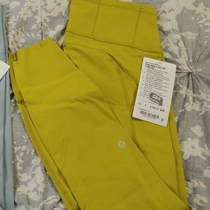 """Lululemon Fast and Free tight 25"""" size 8"""